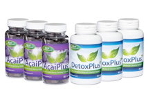 Evolution Slimming Acai Plus+ with DetoxPlus+ Combo Pack 3 months