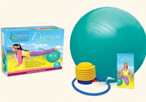 Wai Lana Exercise Ball kit