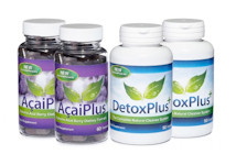 Evolution Slimming Acai Plus+ with DetoxPlus+ Combo Pack 2 months