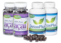 Evolution Slimming Pure Acai Berry Detox Combo Pack 2 months