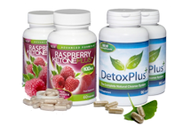 Evolution Slimming Raspberry Ketone Plus+ Colon Cleanse Combo Pack